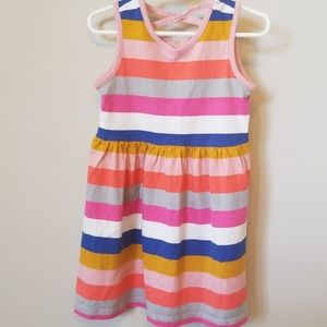 Gap Sleeveless Stripe Dress
